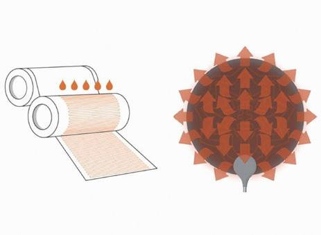 <b>銀ナノインクを用いて製造された世界初のヒーター</b>