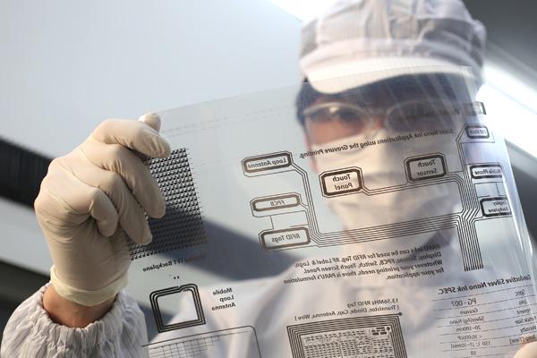 <br><b>印刷電子(Flexible Electronics)技術</b>